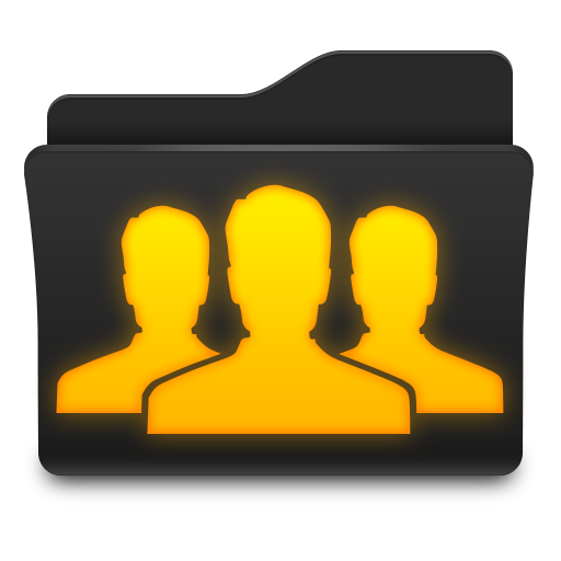Group Folder Icon Png image #3235