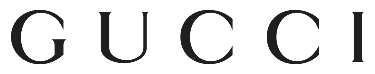 Gucci fashion brand Logo
