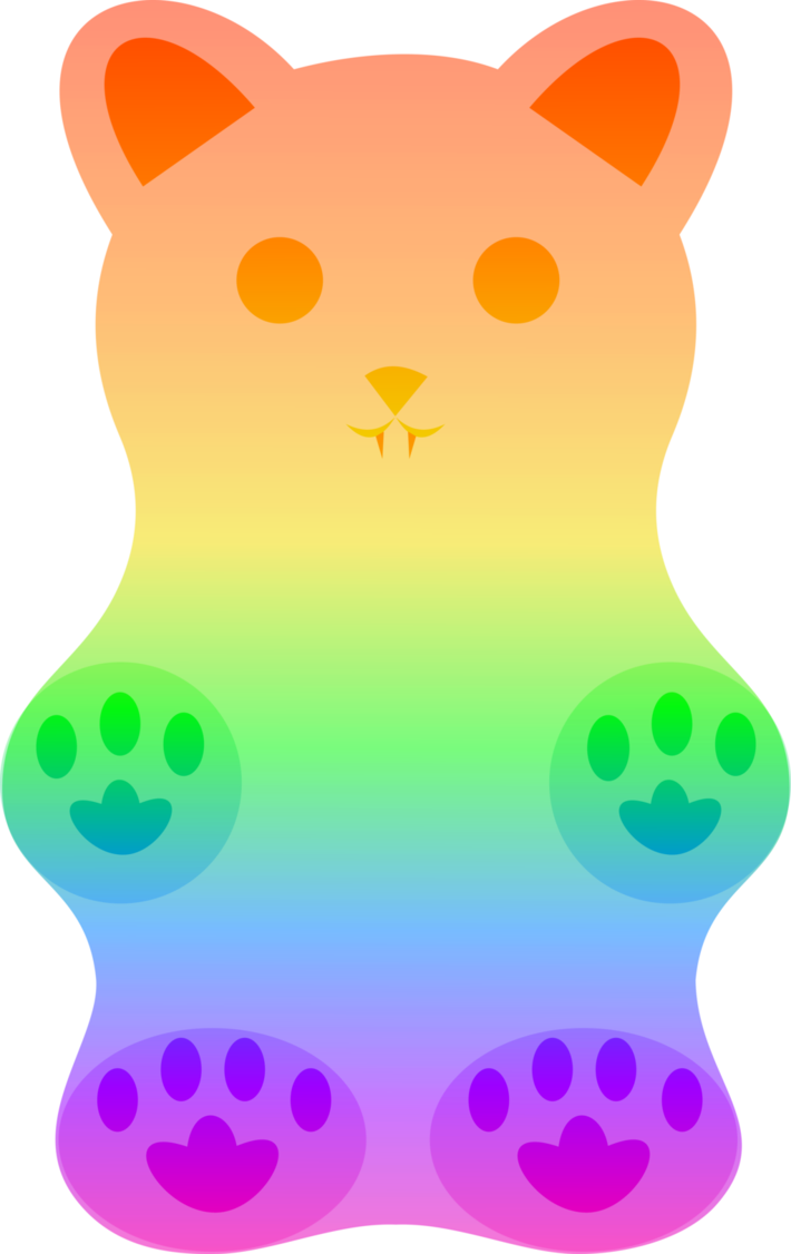gummy bear background transparent 30437 free icons and png
