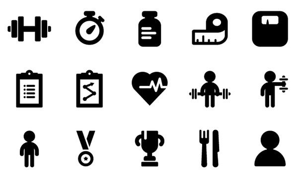 Gym Icon Png Icons fitness icons