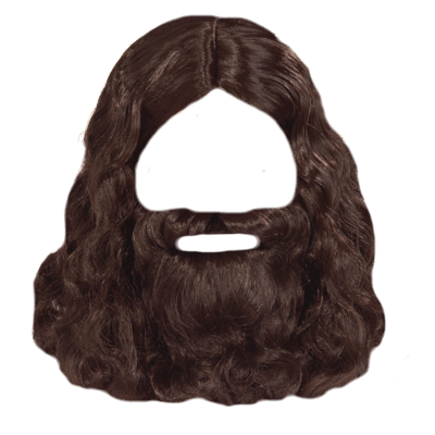hair and beard png