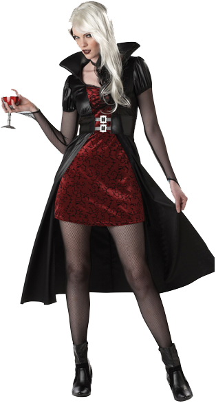 halloween costume lady png