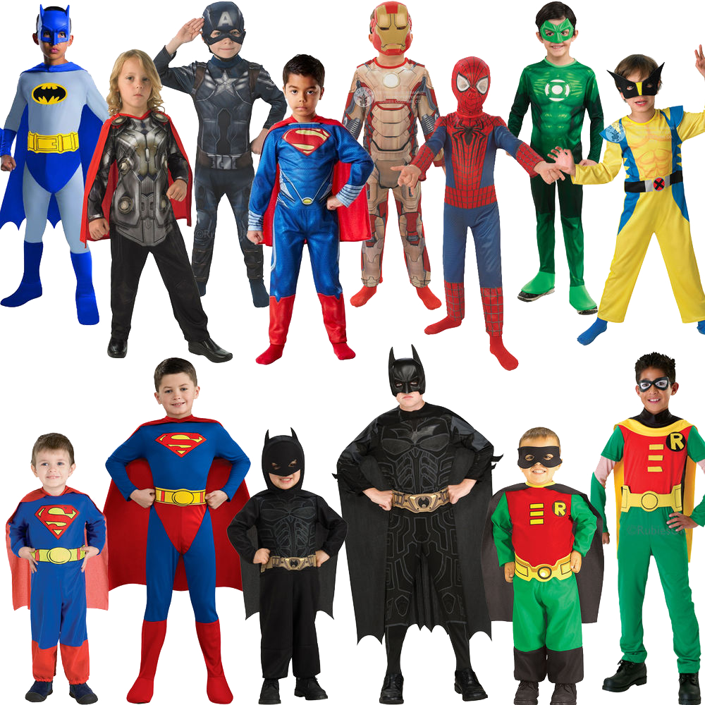 Halloween Costumes Kids Cartoon Characters Png image #44702