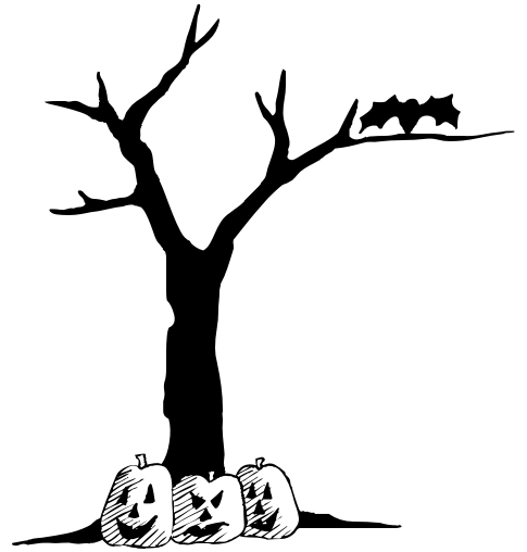 Halloween Tree Png Transparent Background Hd