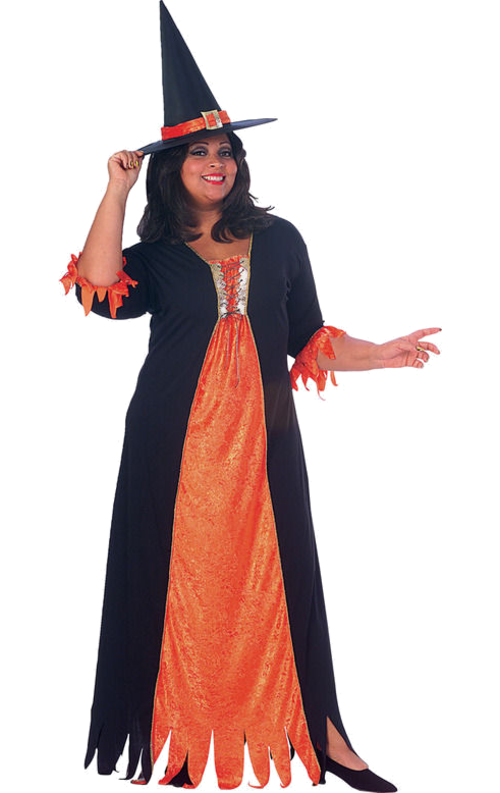 Halloween Witch Costume Png image #44699
