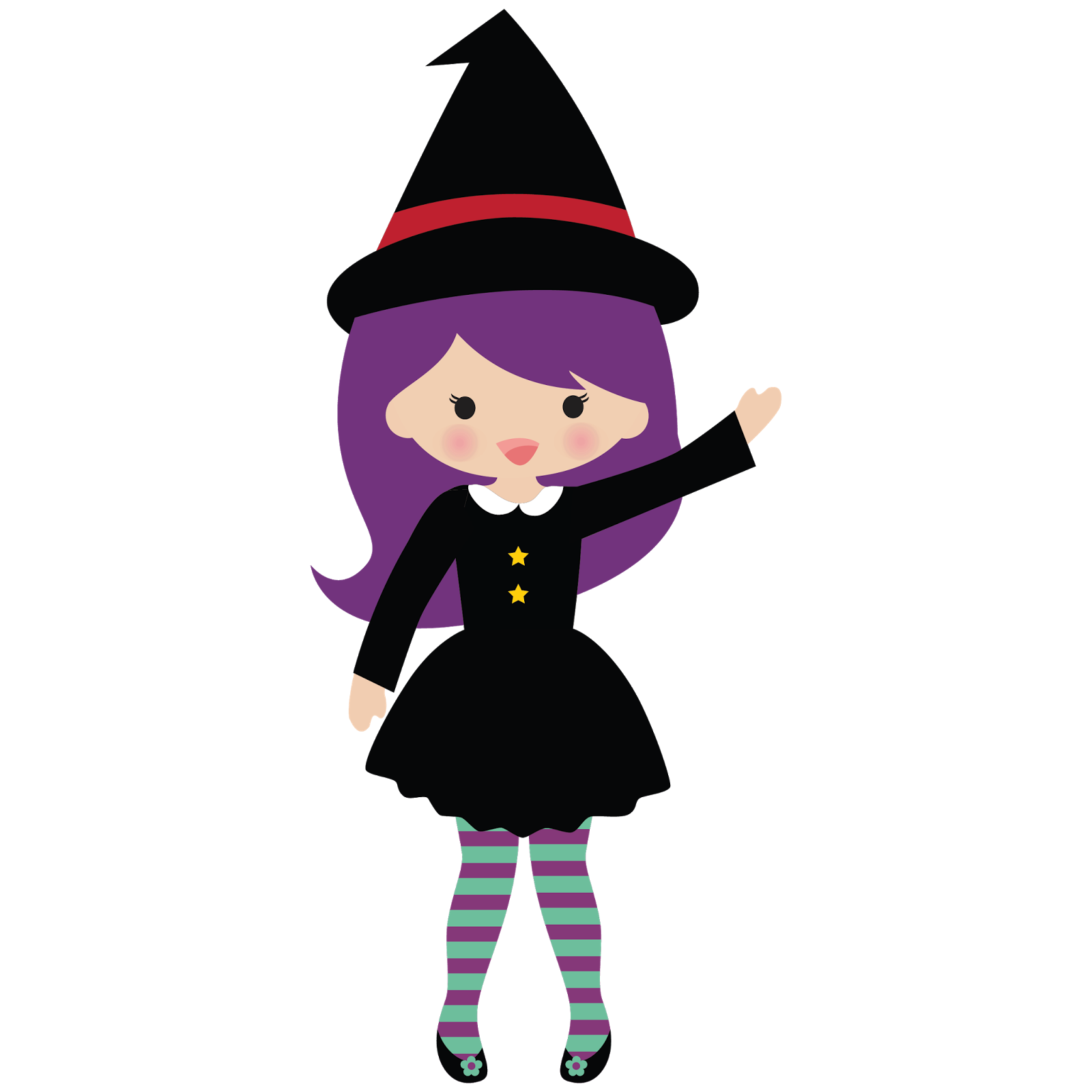 halloween witch, vector png, witch, little witches png