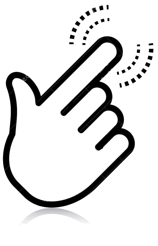 Hand Click Here Clip Art Png Cliparts image #45036