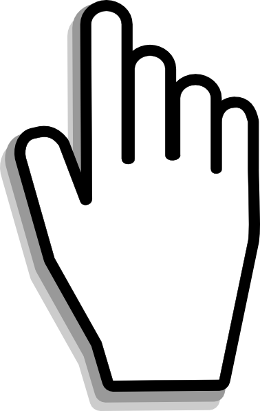Hand Cursor Clip Art , royalty