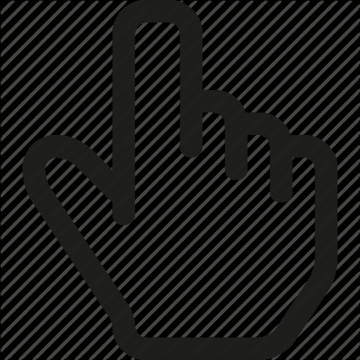 Hand Cursor Png Click, Cursor, Hand Icon image #1115