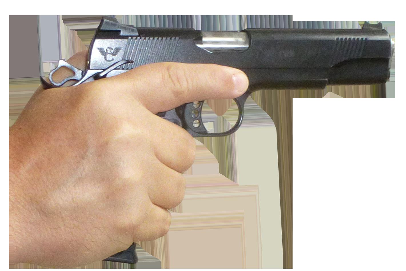 hand, gun png