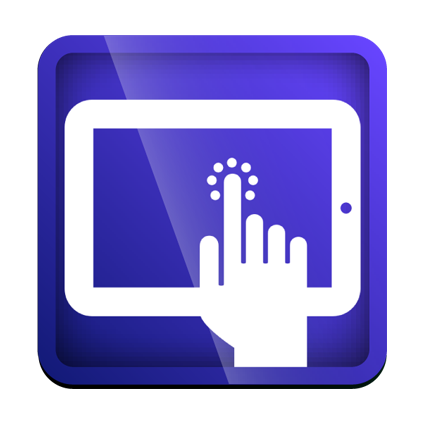 Hand, Screen, Tablet,technology Icon image #34442