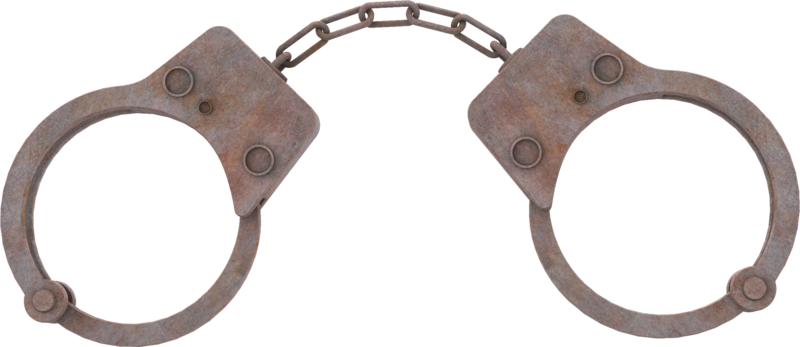 Handcuffs Png image #40837