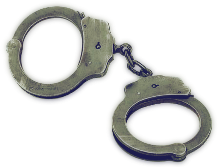Handcuffs Png image #40844