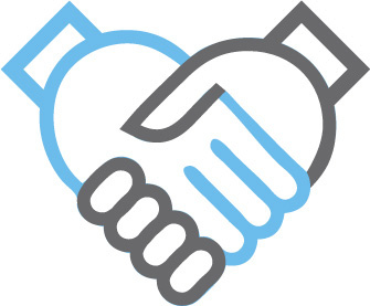 Afbeeldingsresultaat voor handshake  icon