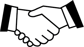 Handshake Simple Png image #11152