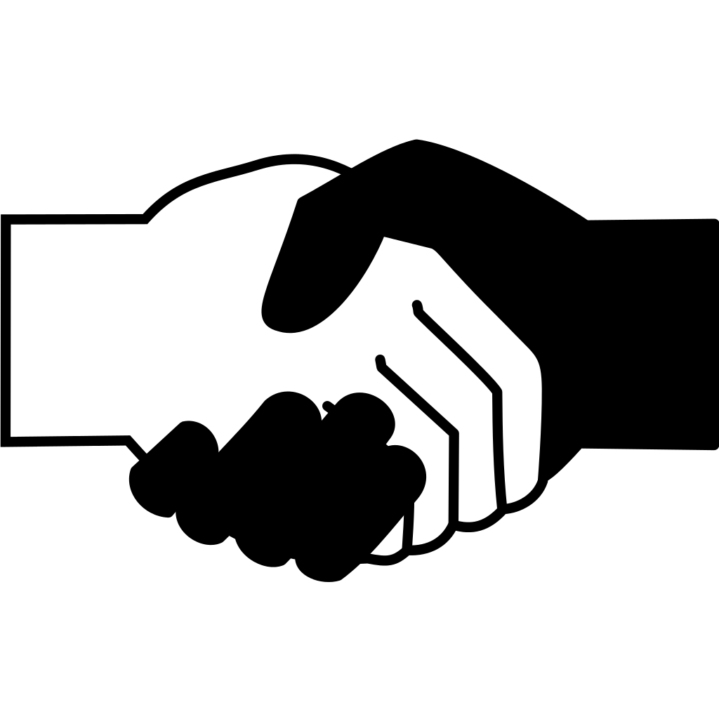 Handshake Simple Png image #11138