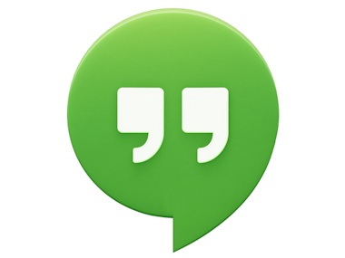 Hangouts Icon Drawing image #15628