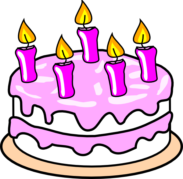 Happy Birth Day Cake Png image #26296