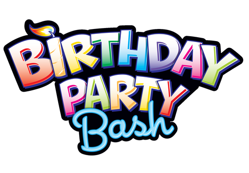 Happy Birthday bash text png
