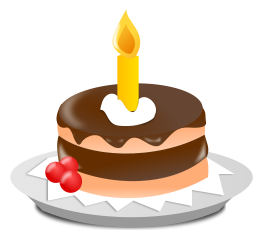 Png Birthday Cake Vector image #16540