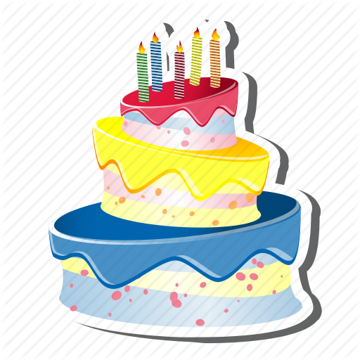 happy birthday cake icon   free icons and png backgrounds, Beautiful flower