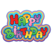 Happy Birthday Greetings Png image #10209