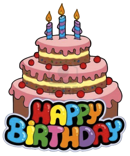 Free Birthday Cake Vector Image