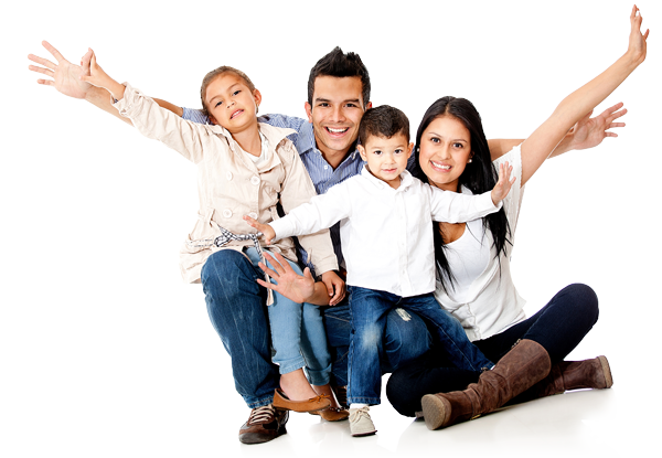 Happy Family Png image #40067