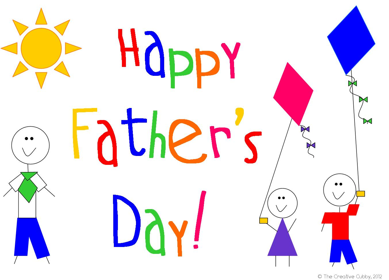 Transparent Fathers Day Background