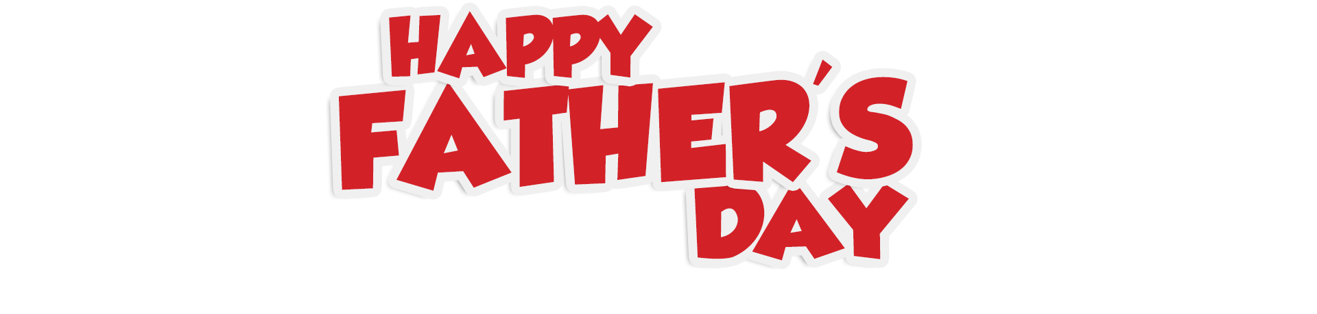 Happy Fathers Day Banner Png image #42544