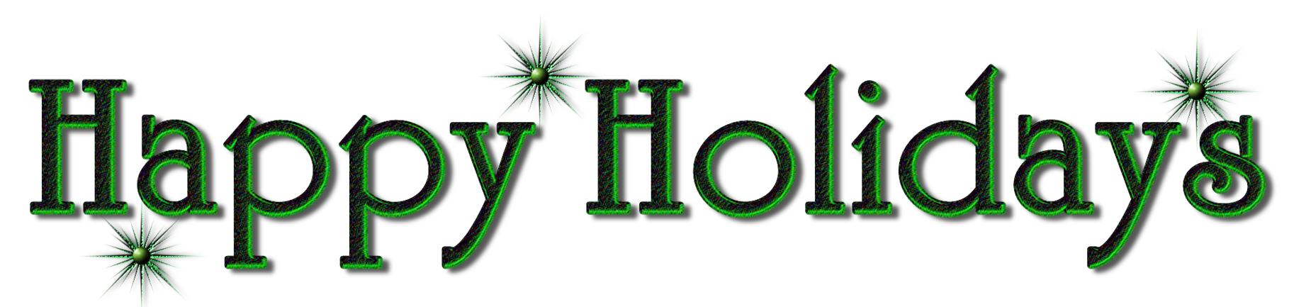 Happy Holidays Banner Png image #34711