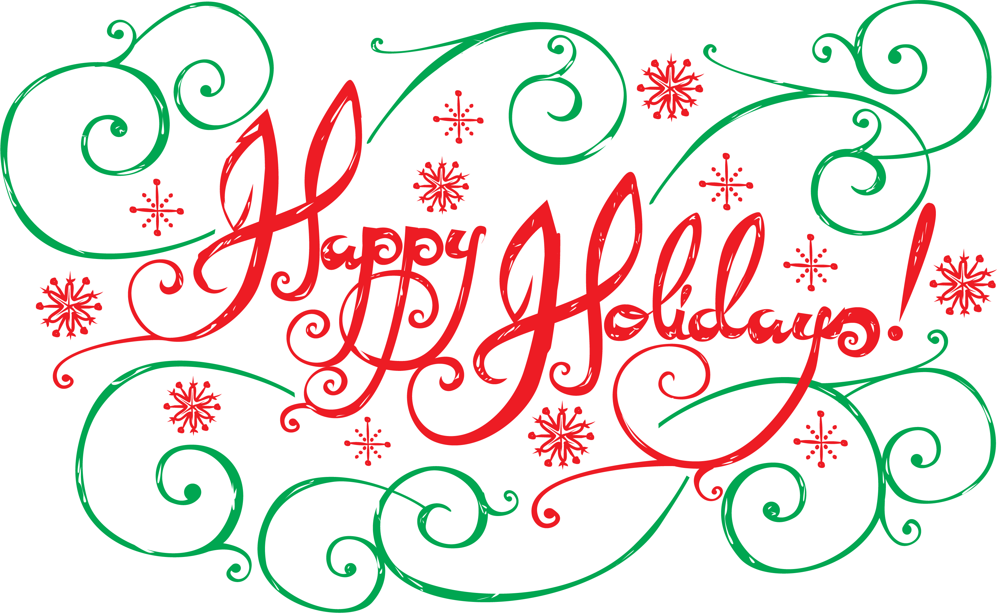 Happy Holidays Transparent PNG Pictures - Free Icons and ...
