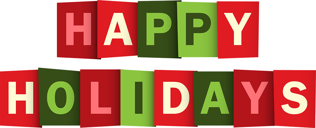 Png Happy Holidays Vector