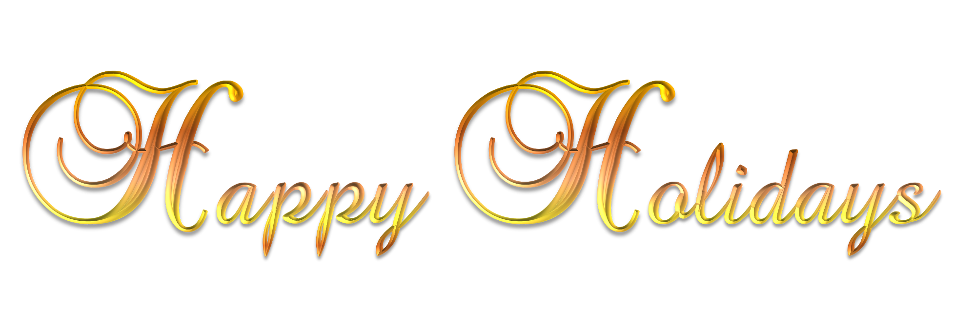 Download Free High-quality Happy Holidays Png Transparent Images image #34696