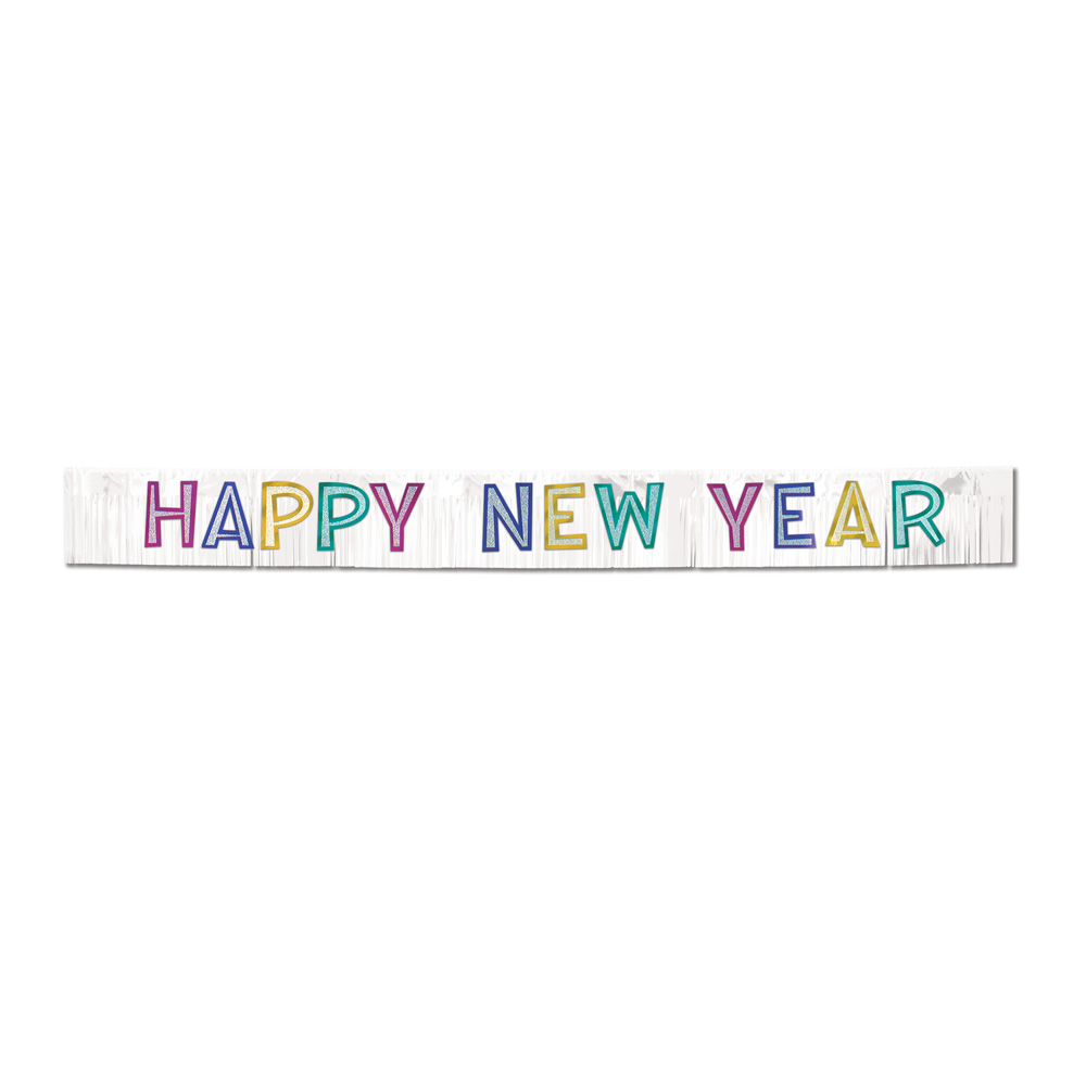 Clipart PNG Happy New Year Banner