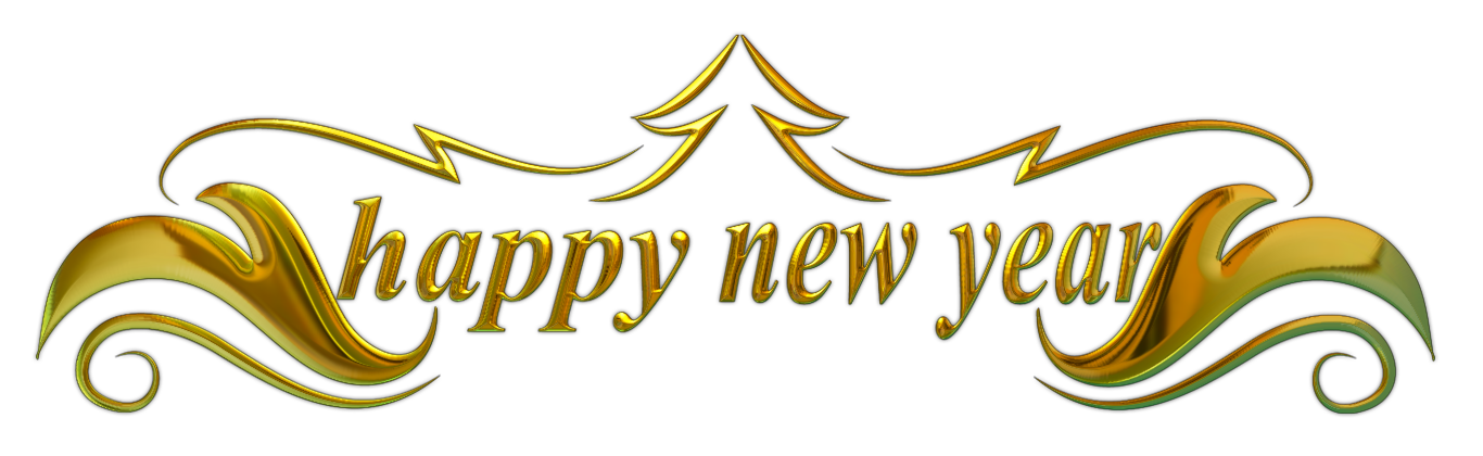 Happy New Year Banner In Png Transparent Background Free Download 34667 Freeiconspng