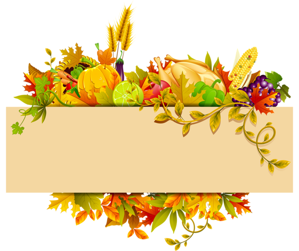 Thanksgiving Designs Png