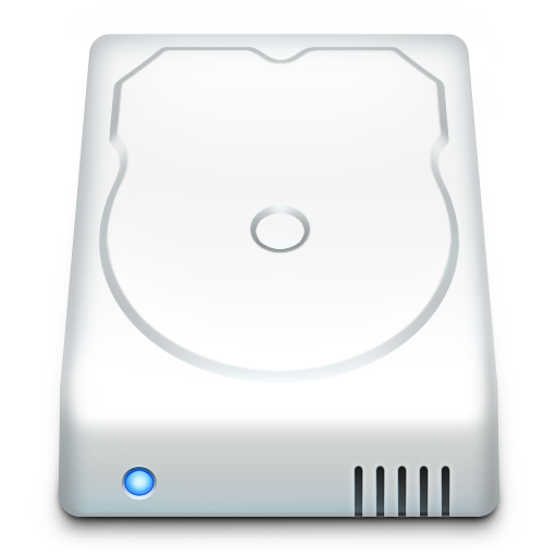 Icon Hard Drive Vector