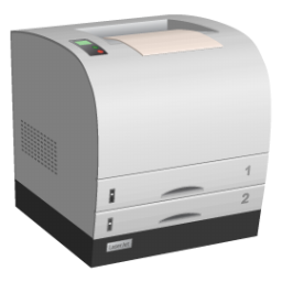 Hardware Laser Printer Icon