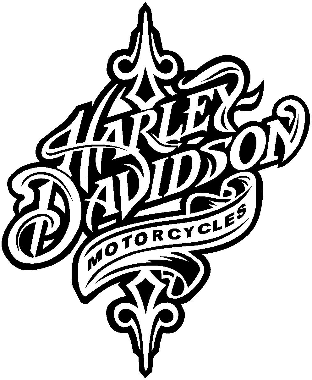 Harley Davidson Logo Png on Car Wings Drawings