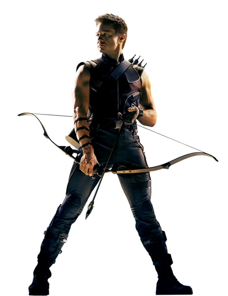 Photo Hawkeye PNG image #18517