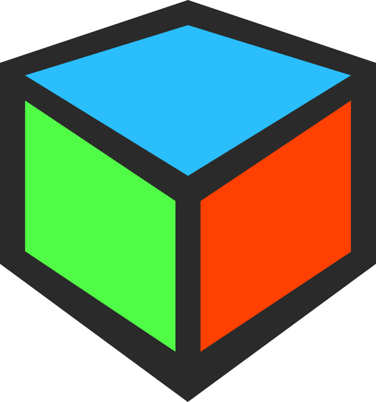Hd 3D Cube Clipart Icon image #47041