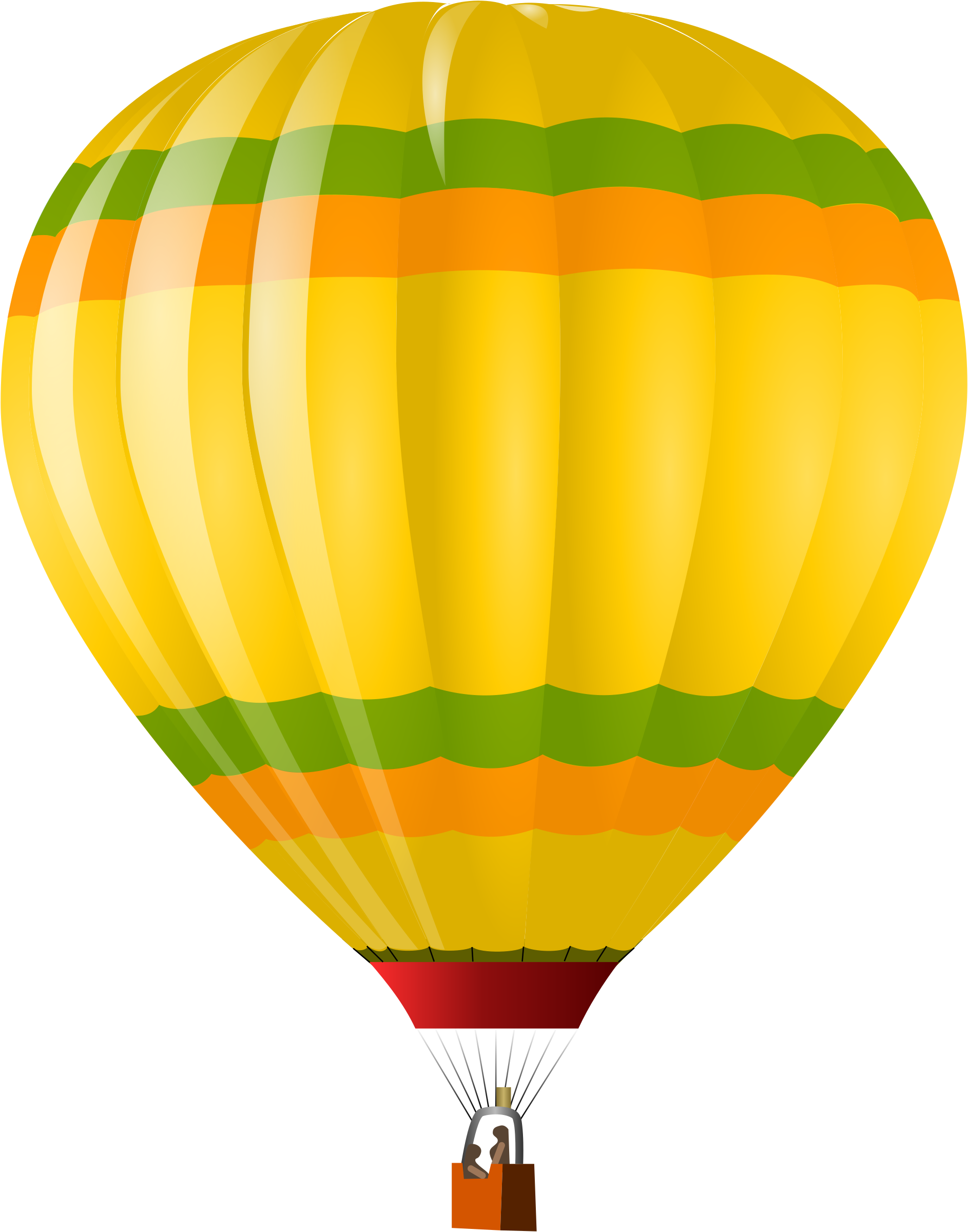 Hd Air Balloon Png Transparent Background image #46767