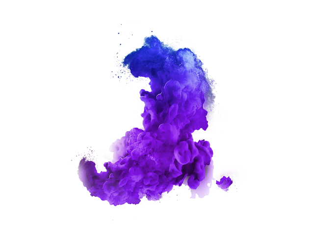 hd blue color smoke png