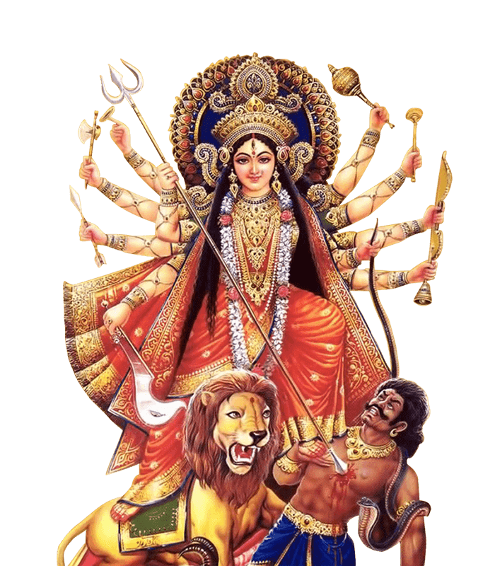 Hd Durga Png Transparent Background image #45458