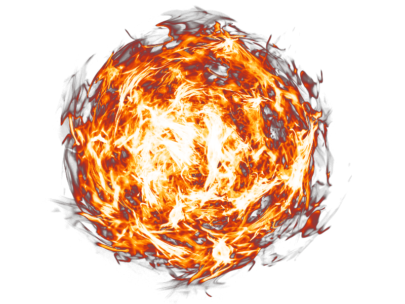 Hd Fireball Png Transparent Background image #46748