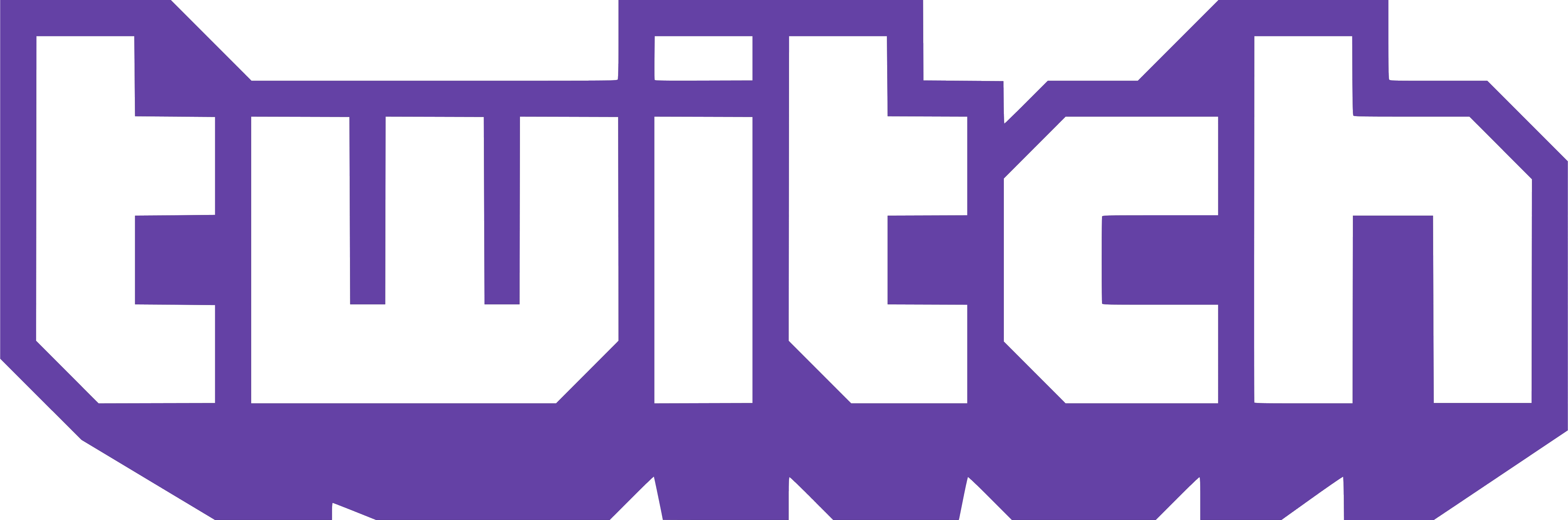HD Logo Twitch PNG Transparent Image