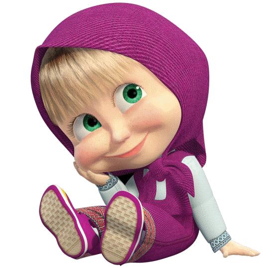 Hd Masha Transparent Background PNG image #47240