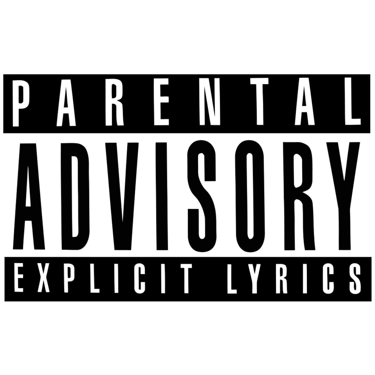 HD Parental Advisory Png