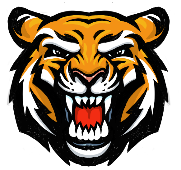 Head Tiger Png Clipart image #39191